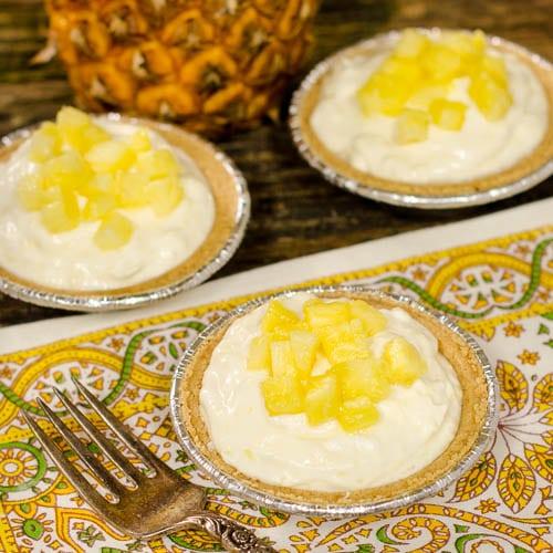 Creamy Pineapple Tartlets - Magnolia Days