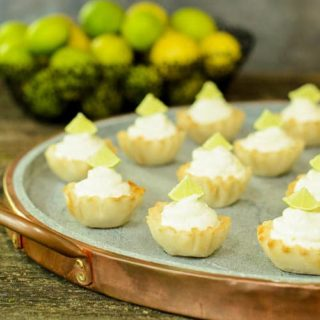 Key Lime Pie Bites