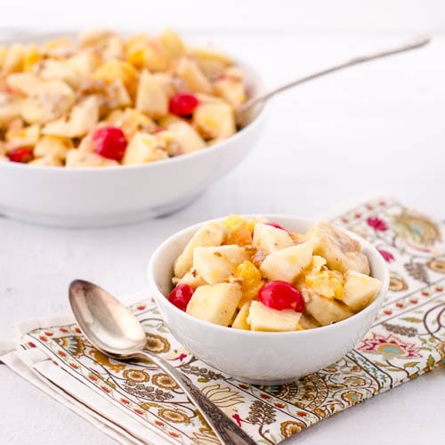 Mom's Fruit Salad for #SundaySupper #ChooseDreams