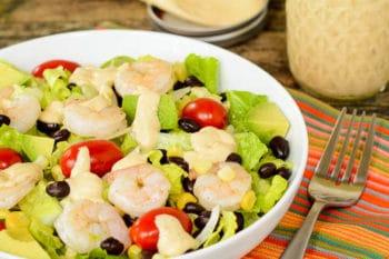 Southwestern Shrimp Salad | Magnolia Days