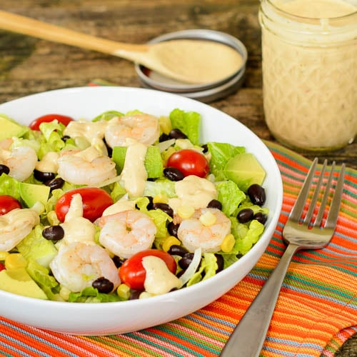 Southwestern Shrimp Salad | Magnolia Days