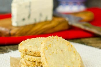 Spicy Blue Cheese Shortbread Cookies | Magnolia Days