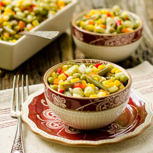 Vegetable Salad for #SundaySupper
