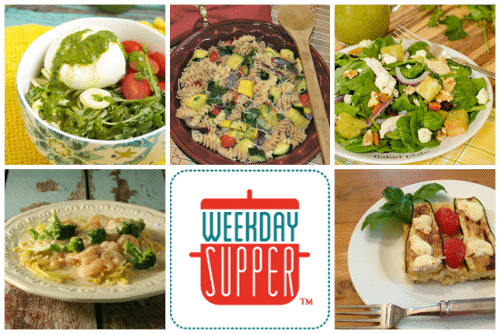 Weekday Supper Collage 6.9 to 6.13.14