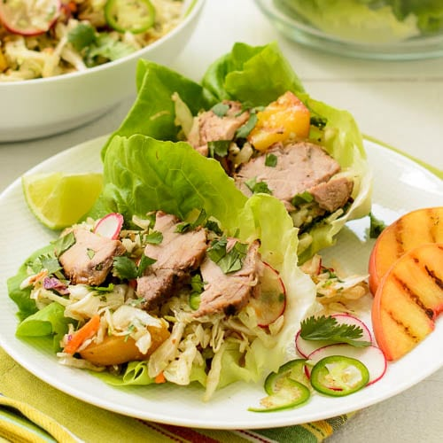 Asian Pork Lettuce Cups   Magnolia Days
