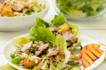 Asian Pork Lettuce Cups | Magnolia Days
