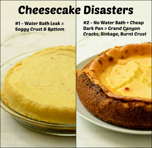 Cheesecake Disasters | Magnolia Days