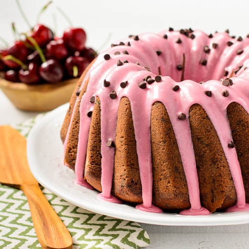 cherry chocolate chip bundt cake magnolia days