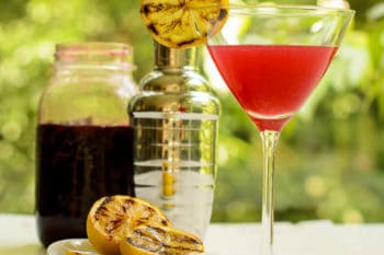 Grilled Lemon Cherry Drop Martini   Magnolia Days