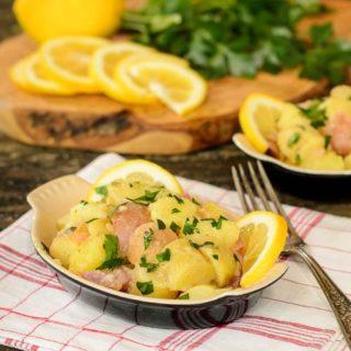 Meyer Lemon Fingerling Potato Salad