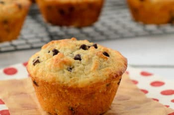 Oatmeal Chocolate Chip Muffins | Magnolia Days