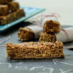 Peanut Butter Oatmeal Energy Bars | Magnolia Days