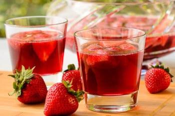 German Strawberry Wine Punch | Magnolia Days