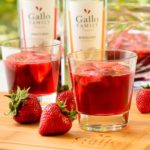 German Strawberry Wine Punch | Magnolia Days