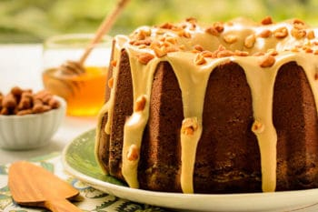 Honey Roasted Peanut Butter Pound Cake | Magnolia Days