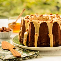 Honey Roasted Peanut Butter Pound Cake