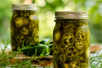Refrigerator Pickled Jalapenos with Herbs | Magnolia Days