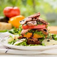 Steak and Heirloom Tomato Salad