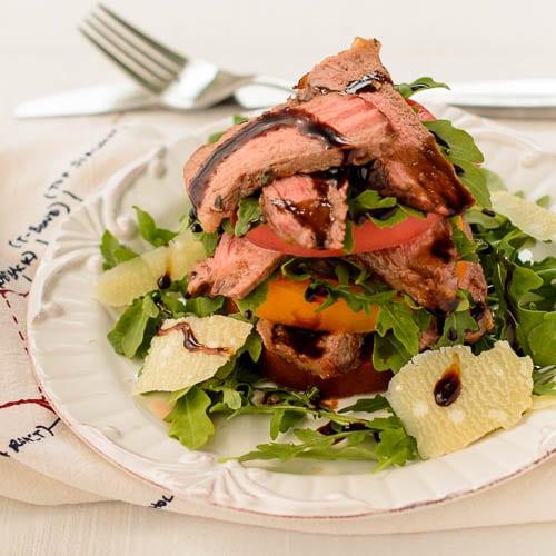 Steak and Heirloom Tomato Salad   Magnolia Days