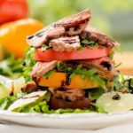 Steak and Heirloom Tomato Salad | Magnolia Days