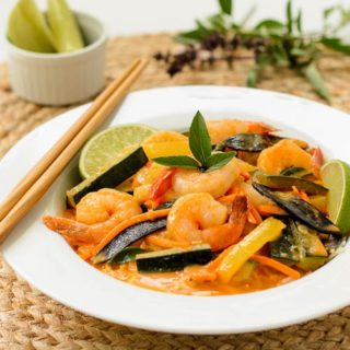 Thai Shrimp Curry for #WeekdaySupper #ChooseDreams