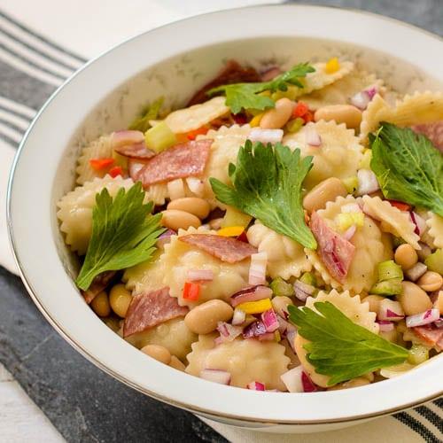 White Bean Salami Pasta Salad   Magnolia Days