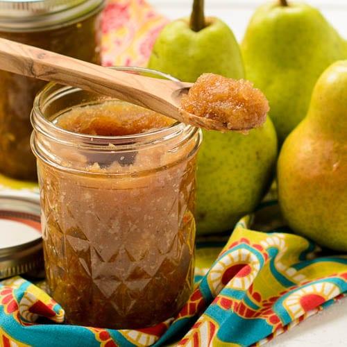 Honey Ginger Pear Butter   Magnolia Days