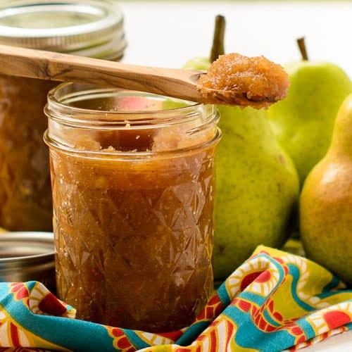 Honey Ginger Pear Butter | Magnolia Days