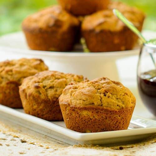 Peanut Butter Muffins | Magnolia Days