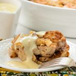 Pear Walnut Bread Pudding | Magnolia Days