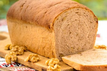 Walnut Wheat Bread | Magnolia Days