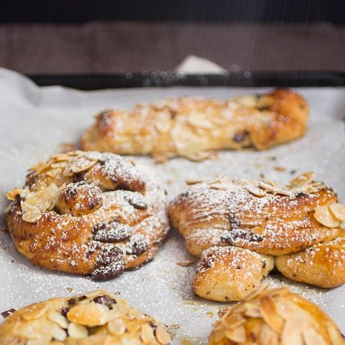 Chocolate Almond Twist Bread   Magnolia Days