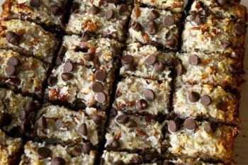 German Chocolate Cookie Bars | Magnolia Days