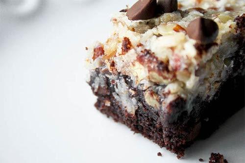 German Chocolate Cookie Bars | Magnolia Days