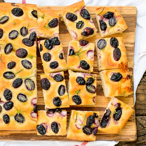 Grape Focaccia | Magnolia Days