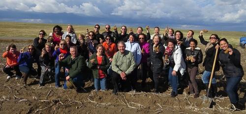 Idaho Potato Farm Group Photo | Magnolia Days