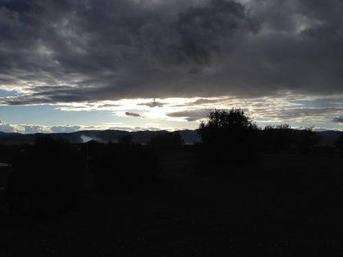 Sunset at Linn Canyon Ranch | Magnolia Days