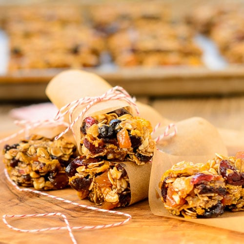 German Fruit and Nut Bars for #SundaySupper