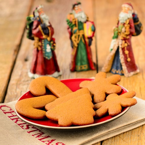 Ginger Molasses Cutout Cookies