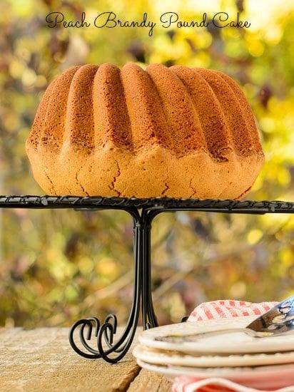 Peach Brandy Pound Cake | Magnolia Days
