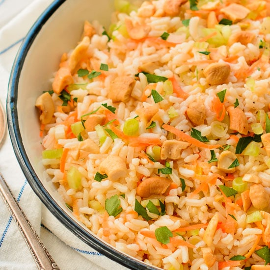 Vegetable Rice | Magnolia Days