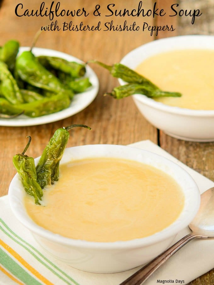 Cauliflower and Sunchoke Soup | Magnolia Days