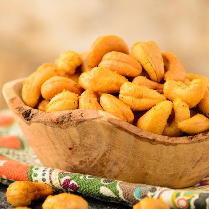 Curried Cashews   Magnolia Days