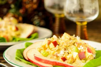 Curried Turkey Salad | Magnolia Days