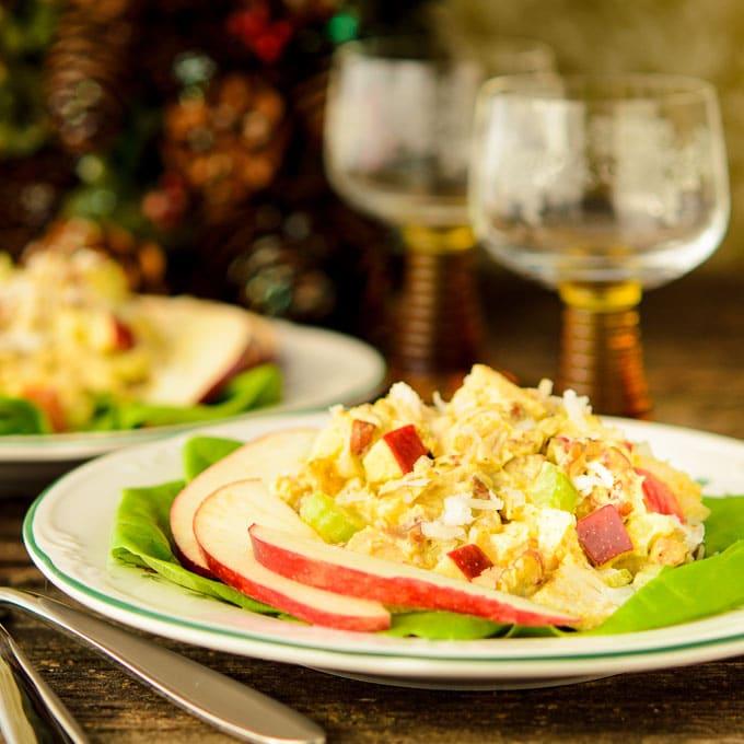 Curried Turkey Salad | Magnolia Days