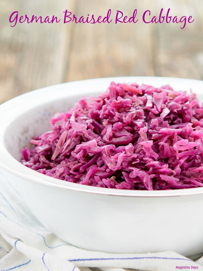 German Braised Red Cabbage | Magnolia Days