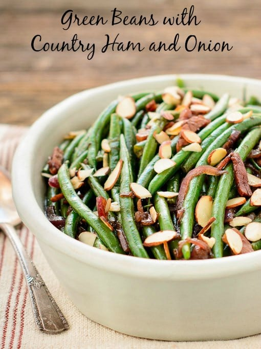Green Beans with Country Ham and Onion | Magnolia Days