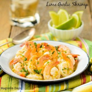 Lime Garlic Shrimp | Magnolia Days
