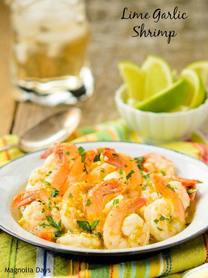 Lime Garlic Shrimp | Magnolia Days