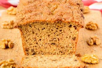 Maple Walnut Quinoa Quick Bread | Magnolia Days